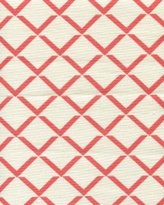302331F TERRACE GRANDE Flame on Tint Quadrille Fabric