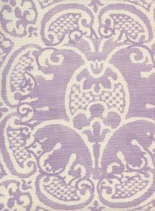 302200B-05 VENETO NEUTRAL Soft Lavender on Tint Quadrille Fabric