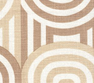 AC210-17 WAVELENGTH Taupe Beige on Oyster Quadrille Fabric