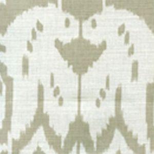 6460-31 ISLAND IKAT Dove Grey on White Quadrille Fabric