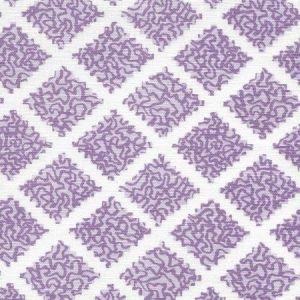 JF01000-05 SHANGHAI Lilacs on White Quadrille Fabric
