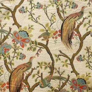 JIMNAH Festive Magnolia Fabric