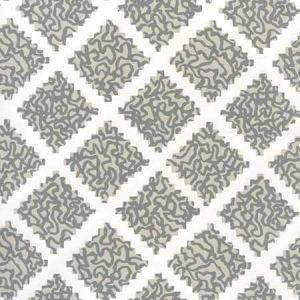 JW01000-10WP SHANGHAI Dark Greys On White Quadrille Wallpaper