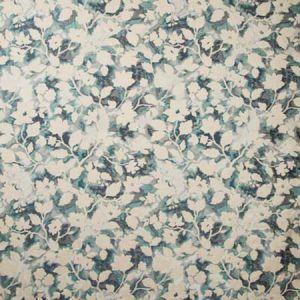 35554-35 LES FLEURS Teal Kravet Fabric