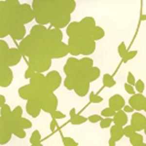4100-05WP LYSETTE Green Beige Quadrille Wallpaper