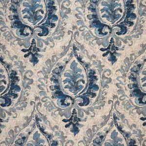 MARTELLA Blue Magnolia Fabric
