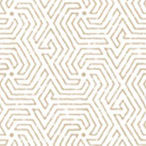 2510-0BWP MAZE Beige Quadrille Wallpaper