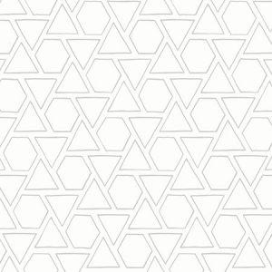 MB30105 Sun Shapes Daydream Gray Seabrook Wallpaper