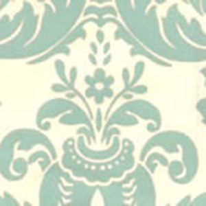 302155W MONTY French Green On Off White Quadrille Wallpaper
