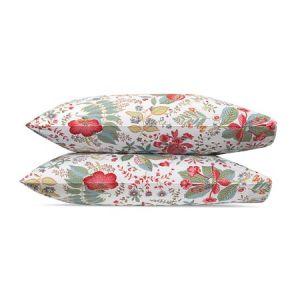 MSC006KCASPG POMEGRANATE Pink Coral Schumacher King Pillowcases
