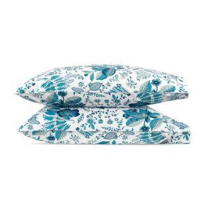 MSC006KCASPH POMEGRANATE Prussian Blue Schumacher King Pillowcases