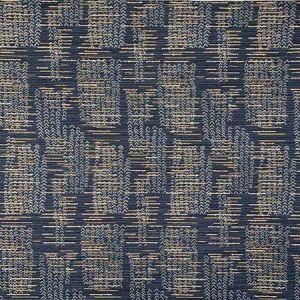 NATO Navy Magnolia Fabric