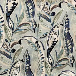 NOLA Blue Mist Magnolia Fabric