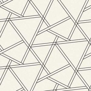 NW32400 Railroad Geometric Seabrook Wallpaper