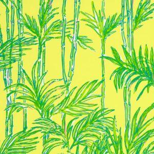 P2016100-453 BIG BAM Lilly Yellow Lee Jofa Wallpaper