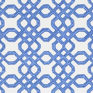 P2016104-50 WELL CONNECTED Bright Navy Lee Jofa Wallpaper