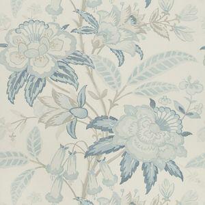 P2018103-115 DAVENPORT PAPER Frost Blue Lee Jofa Wallpaper