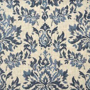 PARADIS Blue Magnolia Fabric