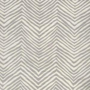 AC303-102 PETITE ZIG ZAG Pale Gray on Tint Quadrille Fabric