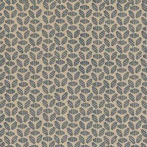 PP50482-1 BUMBLE BEE Indigo Baker Lifestyle Fabric