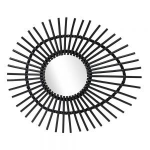 Elis Mirror Black by Source 4 Interiors