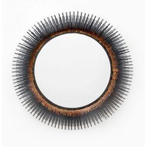 Naples Mirror Brown, Black, Beige by Source 4 Interiors