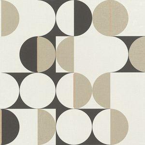 RH538021 Cakara Cream Geometric Brewster Wallpaper