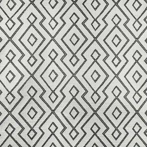 S3166 Ebony Ivory Greenhouse Fabric