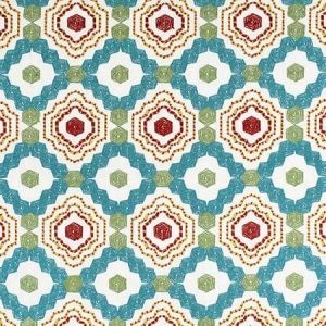 S3411 Turquoise Greenhouse Fabric
