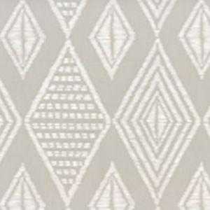 AP855-PGREY SAFARI Pale Grey On White Quadrille Wallpaper