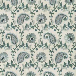 SAUDADE-15 SAUDADE PAISLEY Bay Kravet Fabric