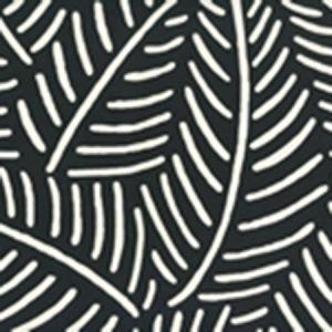 CP1025W-09 SAUVAGE REVERSE Black On Almost White Quadrille Wallpaper