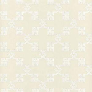 SC 0001WP88373 WP88373-001 SUZHOU LATTICE Alabaster Scalamandre Wallpaper