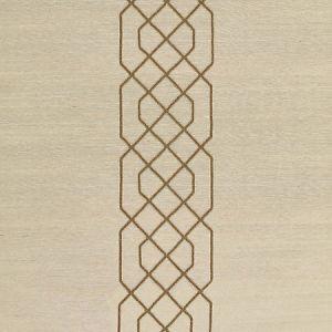 SC 0002WP88385 WP88385-002 ADELAIDE BEADED SISAL Burnished Gold Scalamandre Wallpaper