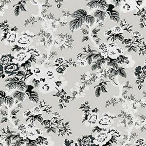 SC 0003WP88372 WP88372-003 ASCOT FLORAL PRINT French Grey Scalamandre Wallpaper