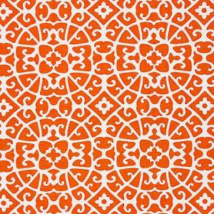 16559-004 ANSHUN LATTICE Persimmon Scalamandre Fabric