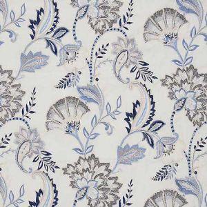 27036-001 ADARA EMBROIDERY Delft Scalamandre Fabric