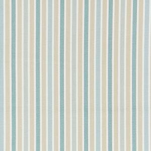 27114-001 LEEDS COTTON STRIPE Seaglass Scalamandre Fabric