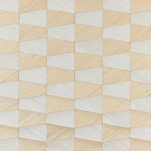 SC 0001 WP88464 STACCATO - ABACA & SISAL Ivory & Sand Scalamandre Wallpaper