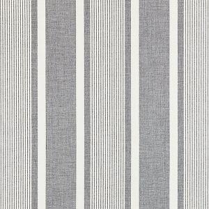 27110-002 WELLFLEET STRIPE Zinc Scalamandre Fabric