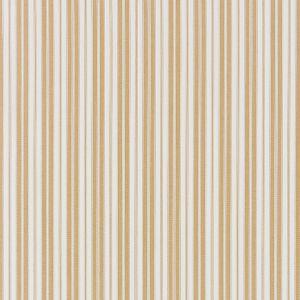 27115-002 DEVON TICKING STRIPE Camel Scalamandre Fabric