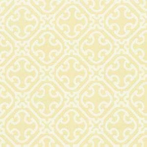 27214-002 AILIN LATTICE WEAVE Canary Scalamandre Fabric