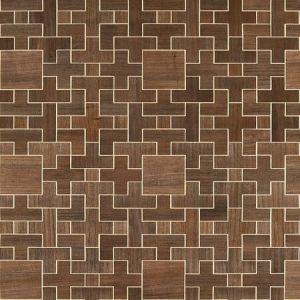 SC 0002 WP88480 ALLEGRO - WOOD Hazelnut Scalamandre Wallpaper