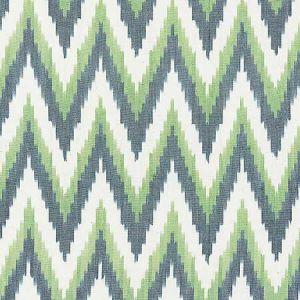 27185-003 ADRAS IKAT WEAVE Peacock Scalamandre Fabric