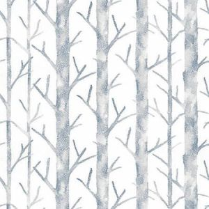 SC 0003 WP88448 EVERETT - VINYL Twilight Scalamandre Wallpaper