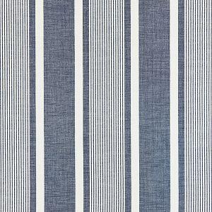 27110-004 WELLFLEET STRIPE Denim Scalamandre Fabric
