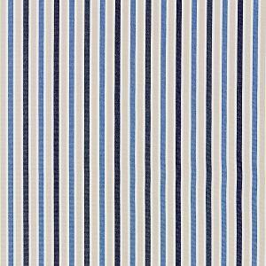27114-004 LEEDS COTTON STRIPE Indigo Scalamandre Fabric