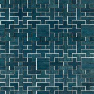 SC 0004 WP88480 ALLEGRO - WOOD Deep Sea Scalamandre Wallpaper