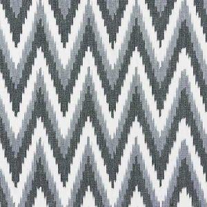 27185-005 ADRAS IKAT WEAVE Carbon Scalamandre Fabric