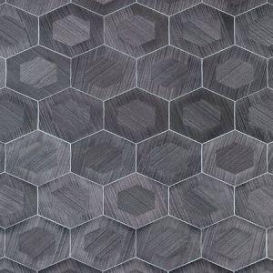 SC 0005 WP88476 HEXAD Granite Scalamandre Wallpaper